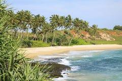Praia de Tangalle Foto de Stock