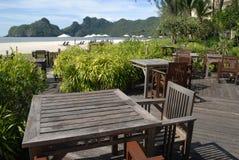 Praia de Tanjung Rhu, Langkawi em Malaysia Foto de Stock Royalty Free