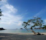 Praia de Tanjung Tinggi Foto de Stock Royalty Free