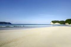 Praia de Tarimbang, Sumba, Indonésia Imagens de Stock Royalty Free