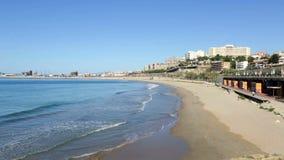 Praia de Tarragona no dia de mola filme