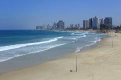 Praia de Tel Aviv Imagens de Stock