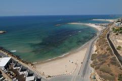 Praia de Telavive, Israel Imagens de Stock Royalty Free