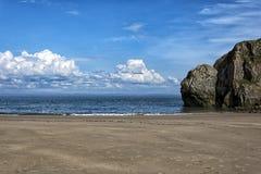 Praia de Tenby Imagens de Stock Royalty Free