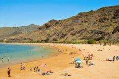 Praia de Teresitas em Tenerife, Ilhas Canárias, Spain Foto de Stock