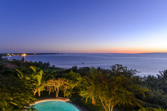 Praia de Tofo - Vilankulo, Moçambique Fotografia de Stock Royalty Free