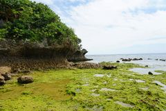 Praia de Toguchi imagens de stock royalty free