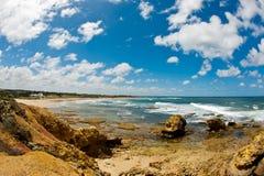 Praia de Torquay - Austrália fotografia de stock