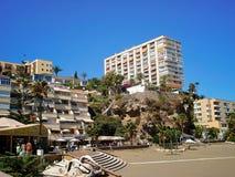 Praia de Torremolinos Foto de Stock Royalty Free