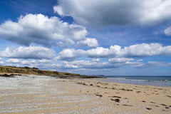 Praia Cornualha de Towan Imagens de Stock Royalty Free