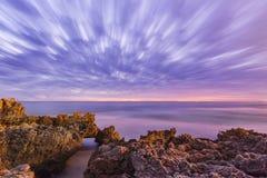 Praia de Trigg Fotos de Stock Royalty Free