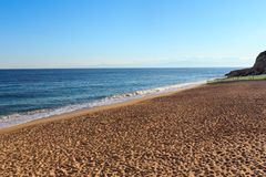 Praia de Tropea, Calabria, Itália Fotografia de Stock