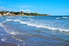 Praia de Tsilivi em Zakynthos Fotografia de Stock