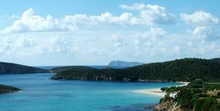 Praia de Tuerredda Imagem de Stock