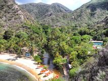 Praia de Tuja Imagem de Stock