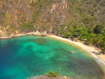 Praia de Tuja Imagens de Stock Royalty Free