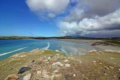 Praia de Uig, ilha de Lewis, Escócia Foto de Stock Royalty Free