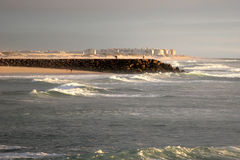 Praia DE Vagueira Royalty-vrije Stock Afbeelding