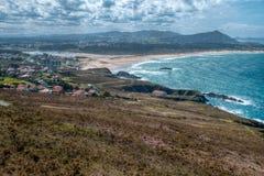Praia de Valdovinho Foto de Stock