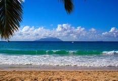 Praia de Vallon do Beau imagens de stock royalty free