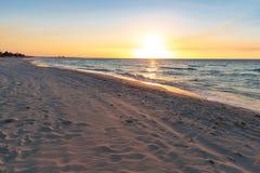 Praia de Varadero imagens de stock
