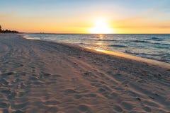 Praia de Varadero imagem de stock