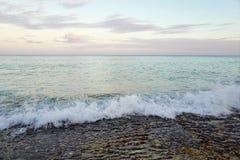 A praia de Varadero em Cuba Imagem de Stock