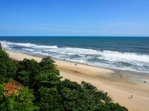 Praia de Varkala Fotos de Stock