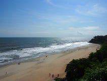 Praia de Varkala Imagens de Stock