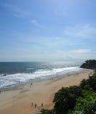 Praia de Varkala Imagem de Stock Royalty Free