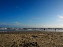 Praia de Varkala Imagens de Stock Royalty Free