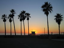 Praia de Veneza Imagem de Stock Royalty Free