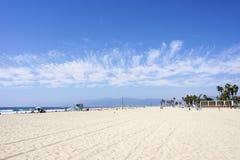 Praia de Veneza, Los Angeles, EUA Imagem de Stock