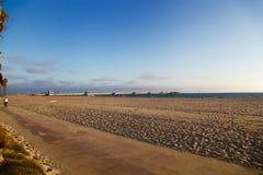 Praia de Venise, Santa Monica, Califórnia Foto de Stock