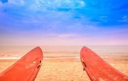 Praia de Viareggio, Versilia, Toscânia, Itália Imagens de Stock
