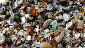 Praia de vidro Imagem de Stock Royalty Free