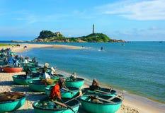Praia de Vietname fotografia de stock royalty free