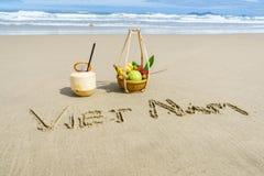 Praia de Vietname Imagens de Stock