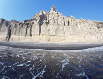 Praia de Vlichada imagem de stock royalty free