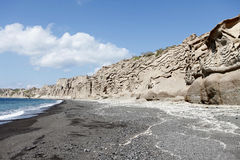 Praia de Vlychada Foto de Stock