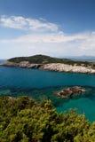 Praia de Voidokilia foto de stock royalty free