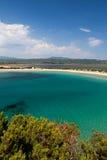 Praia de Voidokilia fotos de stock