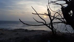 Praia de Vung Tau na manhã foto de stock royalty free