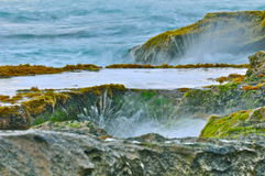 Praia de Waianae Foto de Stock