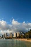 Praia de Waikiki Foto de Stock
