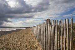 Praia de Walberswick, Suffolk, Inglaterra Fotos de Stock Royalty Free