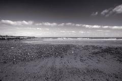 Praia de Walberswick, Suffolk, Inglaterra Fotografia de Stock