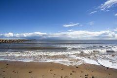 Praia de Walberswick, Suffolk, Inglaterra Foto de Stock Royalty Free