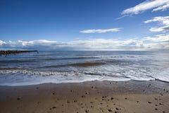 Praia de Walberswick, Suffolk, Inglaterra Imagem de Stock