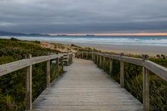 Praia de Waratah Foto de Stock Royalty Free